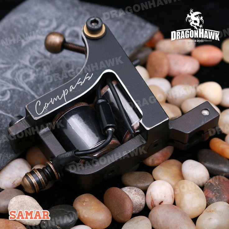 Compass Tattoo Machine Samar Shader Steel Frame Copper Coils [WQ2063] - US$150.00 :