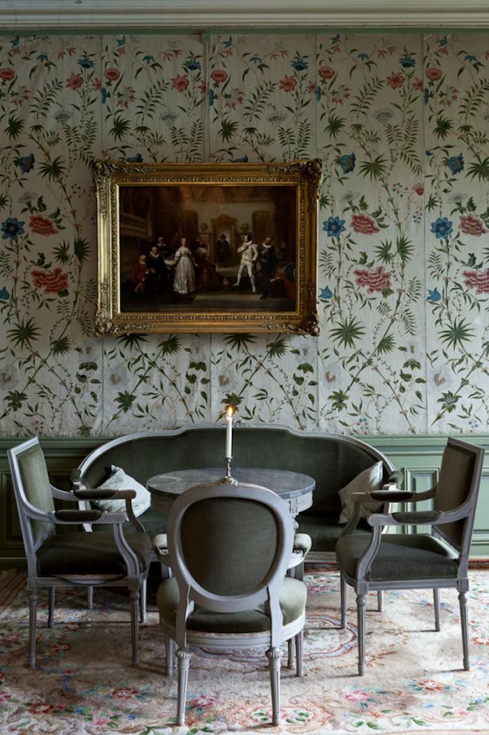 near stockholm at vsterhaninge hringe slott a swedish castle interior - Multi Castle Interior