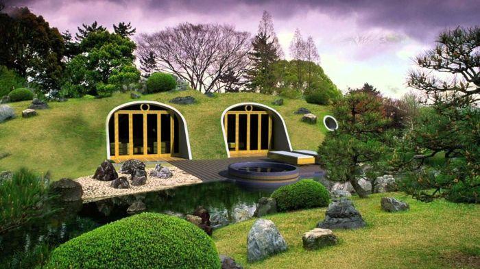 ber ideen zu hobbit h user auf pinterest hobbith hle strohlehmh user und hobbit zu hause. Black Bedroom Furniture Sets. Home Design Ideas
