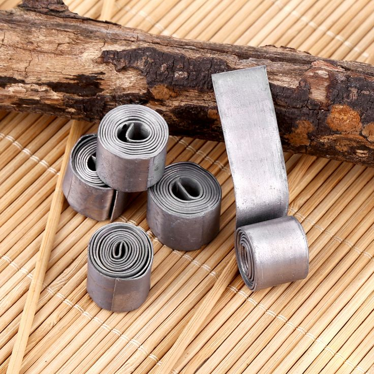 5 Rolls 0.6MM Soft Fishing Lead Sheet Strip Sinkers Weights Fishing Tackle Accessories  Lead Sheet Sinkers