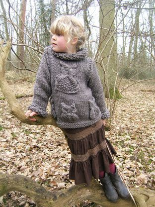 This Brown Owl Sweater is great fun to make and is part of my Owl Collection.This is a quick and fun project using Essentials Twist Super Chunky by Rico Design.The Owls are knitted separately. If you are a beginner knitter who has learnt your knit and purl stitches, can do simple decreases and know simple cables you should be able to do this design.MyPDFPatterns has also launched a facebook page and you will find us on this link http://www.facebook.com/MyPDFPatternsThank you s...