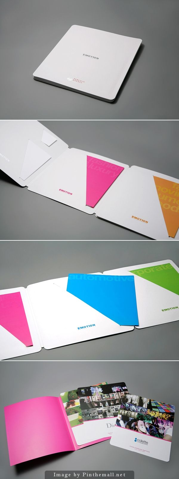 #design #collateral #marketing Beautiful impact of color. Love this.