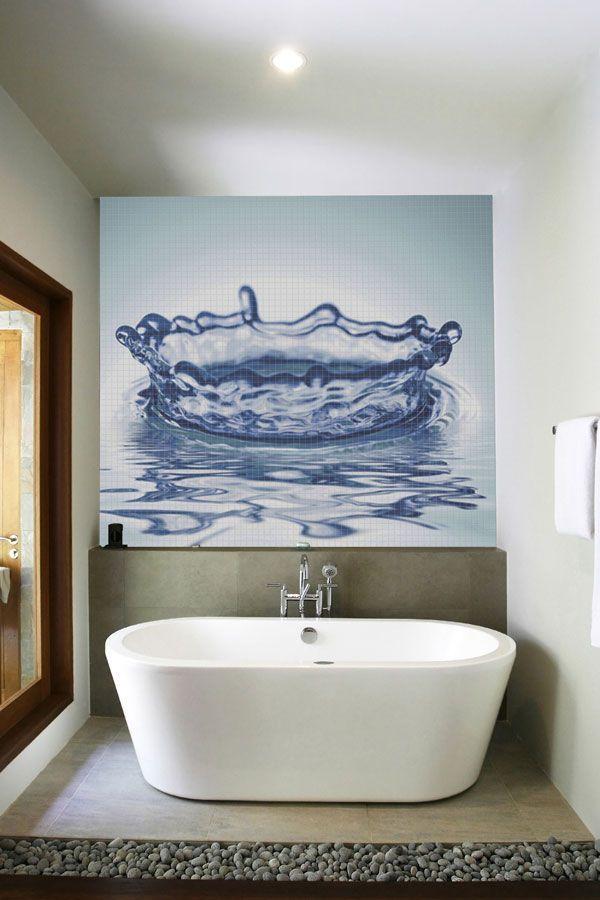 Photo Gallery In Website Bathroom Water walls Bathroom D cor for Unique Room Decoration Water Drop