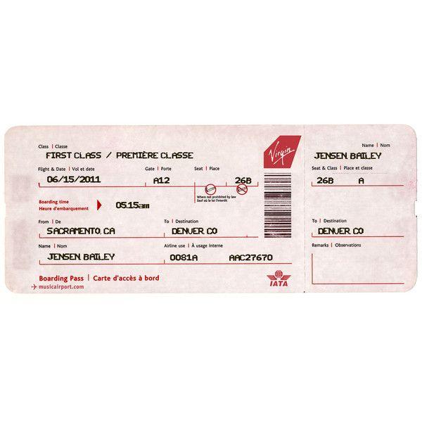 Virgin atlantic airlines e ticket
