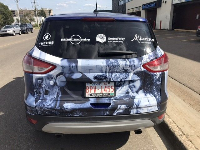 Impressive and eye-catching wrap completed by Speedpro Signs Fort McMurray!
