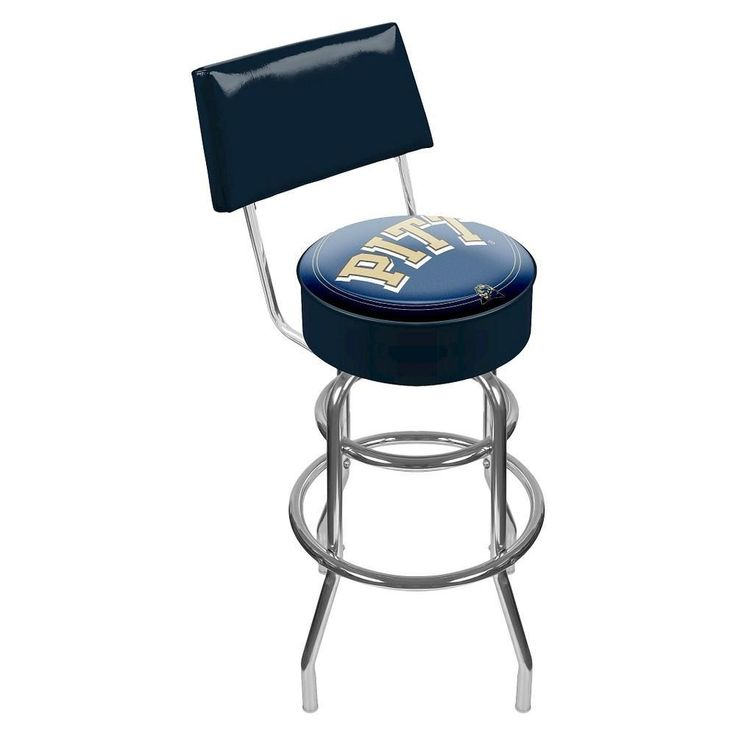 University Of Pittsburgh Clc1100-Pitt University Of Pittsburgh Padded Bar Stool With Back