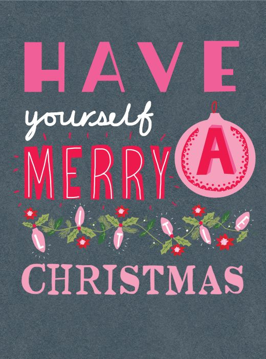 Have yourself a Merry Christmas.... yes I will from now on!!! Now that my miracle dream come true of a soul mate came into my life :)