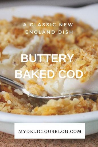 New England Baked Cod