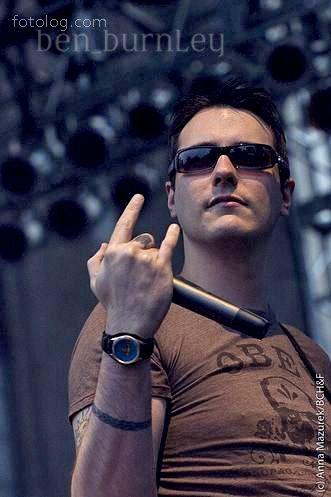 Benjamin Burnley- Lead singer for Breaking Benjamin......my favorite Hard Rock band
