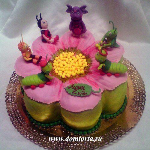 торт Лунтик и его друзья