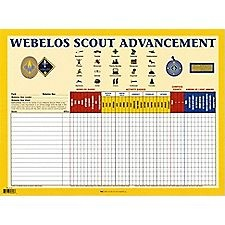 Webelos Advancement Chart, we should get one of these. | Boy ...