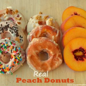 Now These Are Real Peach Donuts