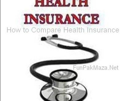 How to Compare Health Insurance