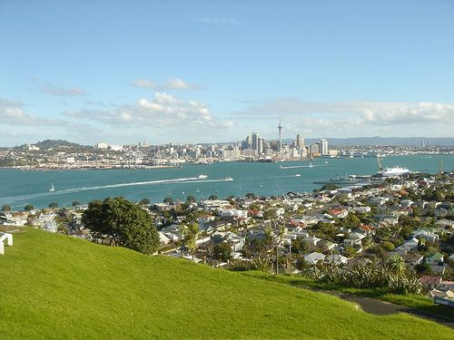 Explore the beaches and ancient volcanic hills of Mount Victoria and North Head near Devonport on the North Shore of Auckland, New Zealand
