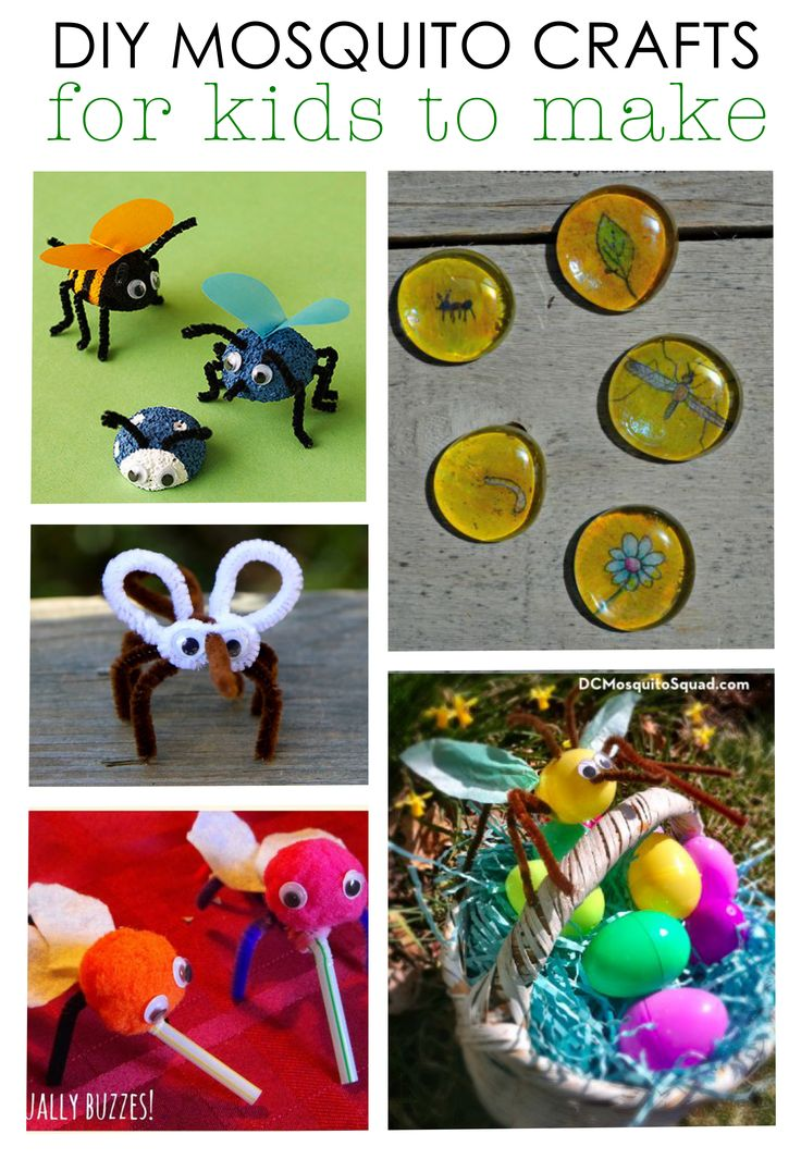 19 best images about mosquito diy crafts for kids on for Plastic bees for crafts