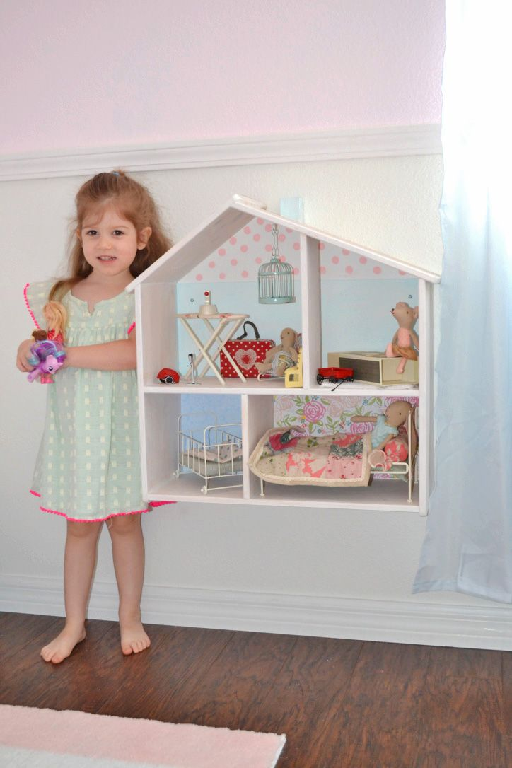 the Three Little Birdies: {crafts} Kids Doll House: IKEA and Maileg
