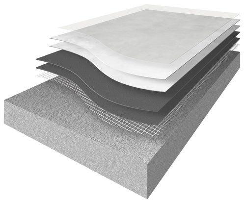 Resin outdoor floor tiles SPATOLATO OUTDOOR by ErreLAB