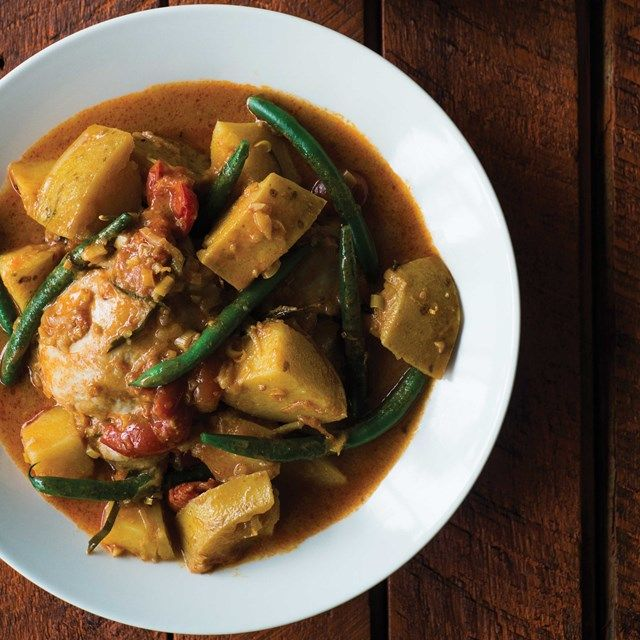 South East Asian Chicken and Potato Curry