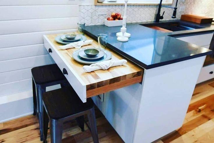 48 reizende kleine Küchen-Stab-Entwurfs-Ideen fü…