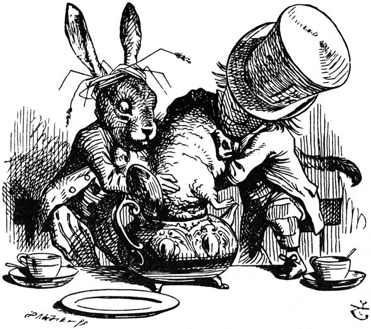 "John Tenniel illustration for ""Alice in Wonderland"" by Lewis Carroll"