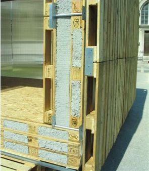 1000 id es sur le th me les mat riaux d 39 isolation de la - Maison en palettes de bois ...