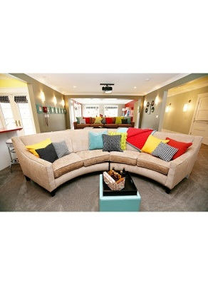 Eero Sectional By Rowe Furniture.