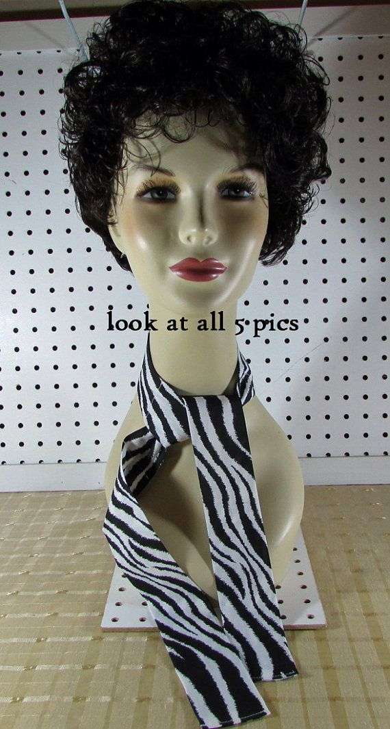 Neck Cooler  Pet Cooler  Head Wrap  Zebra by MaDGreenCreations