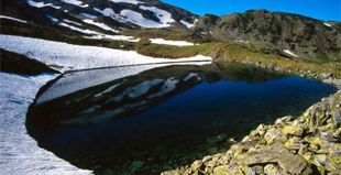 Lacul Inghețat din Masivul Parâng