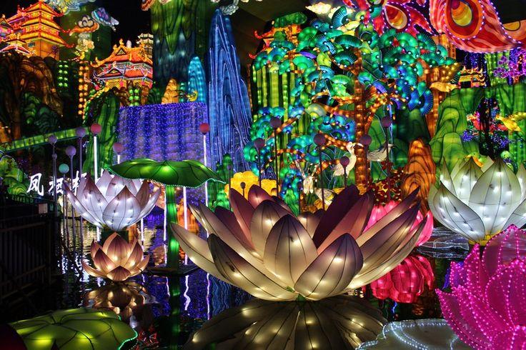 le #festival des #lanternes chinois s'exporte à #Gaillac dans le #Tarn