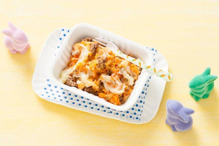 Kijk wat een lekker recept ik heb gevonden op Allerhande! Opperdepop: babyhutspot met tartaar 10-12 mnd