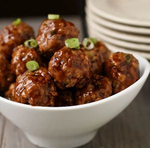 Baked Asian Meaballs Recipe