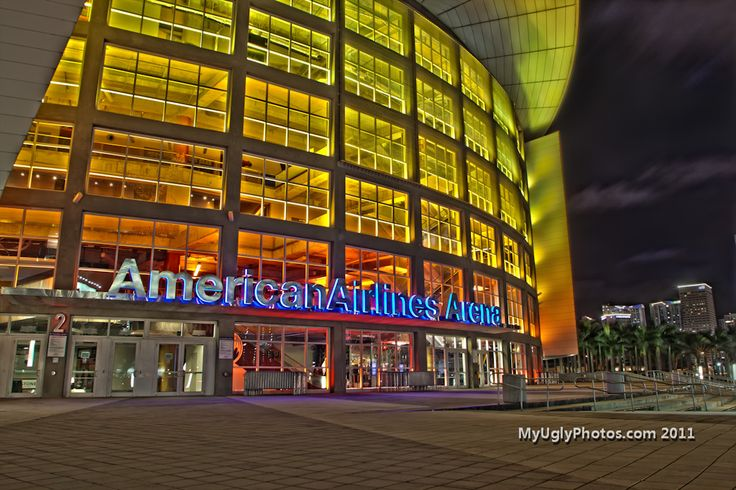 The American Airlines Arena (Miami, Florida)