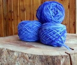 100% natural chilean wool yarn, handmade