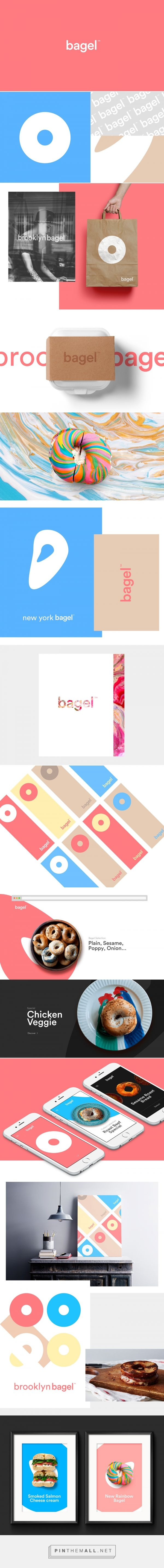 bagel™ - visual identity on Behance... - a grouped images picture - Pin Them All