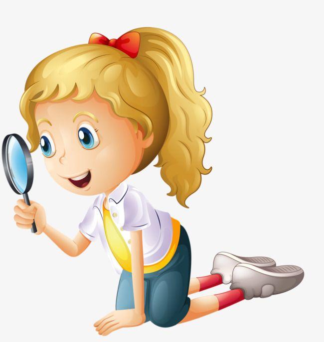 خذ عدسة مكبرة لمراقبة الأمور الفتيات مكبر فتاة فتاة جادة Png وملف Psd للتحميل مجانا Desenho Animado Professor Desenho Animado Infantil Criancas