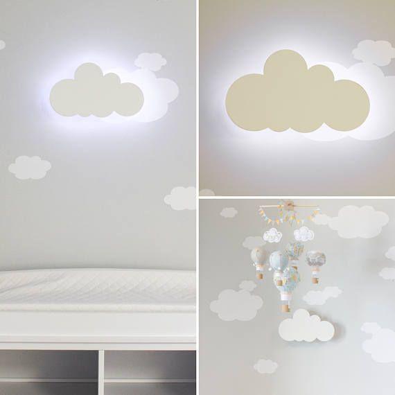 Cloud Night Light Nursery Wall Decoration Kids Room