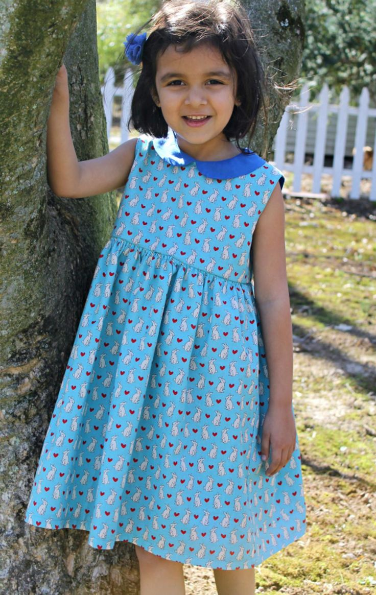 Vintage Lady Dress Pattern free PDF pattern download from the Craftsy Indie Designer Store