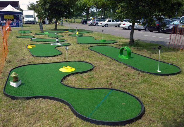 Big Foot Events  Mini Golf Course  9 Hole Crazy Golf