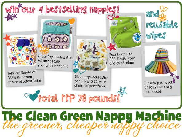 Clean Green Nappy Real Nappy Week competition