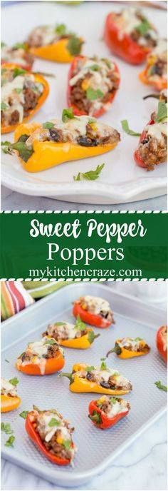 Sweet Pepper Poppers Sweet Pepper Poppers  Perfect Small Bite...  Sweet Pepper Poppers Sweet Pepper Poppers  Perfect Small Bite Appetizer for Your Next Party! Only 7 ingredients and 30 Minutes! Recipe : http://ift.tt/1hGiZgA And @ItsNutella  http://ift.tt/2v8iUYW