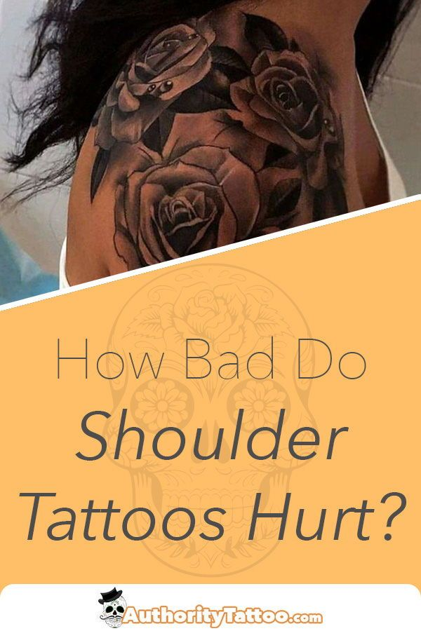 Out Of All The Places On The Body Getting A Tattoo On The Shoulder