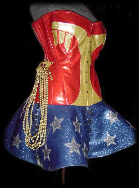 Deluxe wonder woman childrens costume-6980