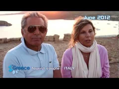 Visit Greece  Real experience by Cecilia & Fausto (Italian) - Esperienza vere da Cecilia & Fausto #truegreece