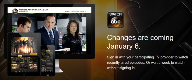 Hulu Plus will be needed to watch shows the day after they air on ABC.
