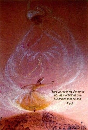 Há que olharmos para o melhor do nosso interior... a riqueza que temos dentro de nós.!...