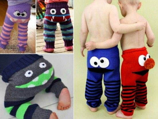 These Knitted Monster Pants are unisex and you could make them in a larger size too. Check out the FREE Pattern now!