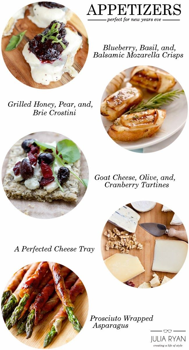 Menu Planning: New Years Eve Appetizers - Julia Ryan | PAWLEYS ISLAND POSH