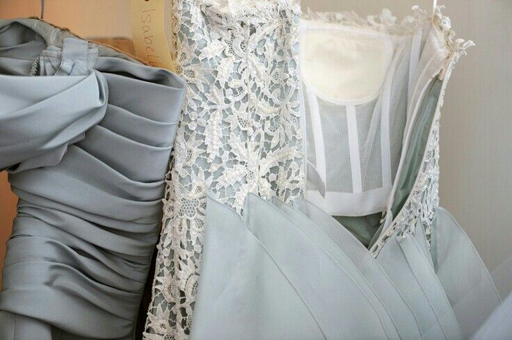 Inside couture dress