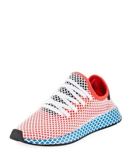 size 40 dae3b cb6ba Men s Deerupt Training Sneaker, Red by Adidas at Neiman Marcus