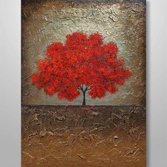 Bienvenido a nuestro estudio --------------------   Pintado a mano moderna pintura abstracta Original por Gabriela y Catalin!  ----------------------------------------------------------------------------  Título: Melodía de amor (oro)  Tamaño: 40 x 30 Lona estirada, galería envuelto, 7/8 espesor barras de madera, sin grapas visibles.  Condición: nuevo  -----------------------------------------------------------------------------------  También dispone de un certificado de autenticidad em...